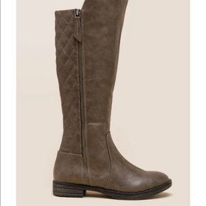 Mia-Trudy Quilted Riding Boot